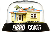 Nostalgic exhibition, Fibro Coast, at USC Gallery