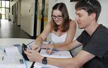 Students studying at USC Gympie