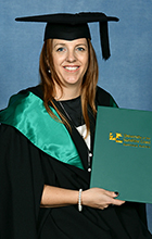 Bachelor of Commerce (Accounting) Faculty Medallist Emma Baxter