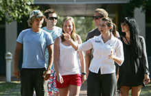 Campus tours will be held every 15 minutes at USC's Mid-year Entry Information Evening on Wednesday 8 May